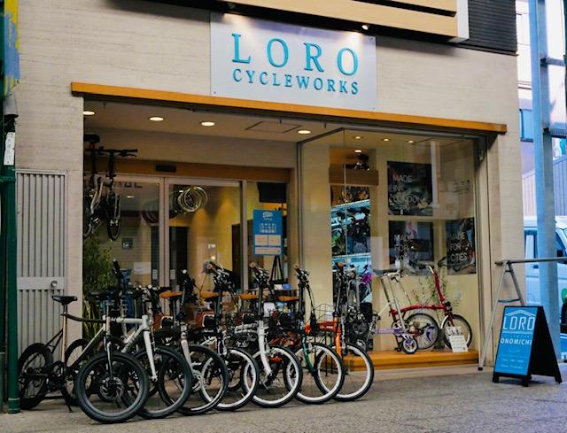 LORO CYCLE WORKS ONOMICHI